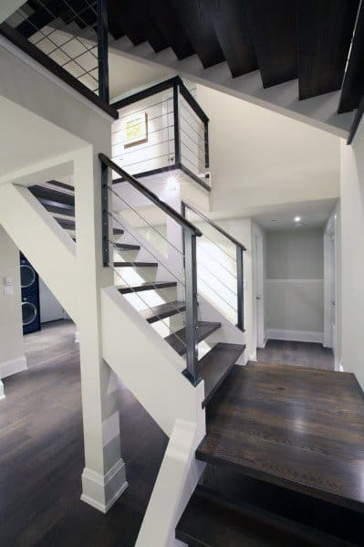 Designs For Basement Stairs Contemporary Style