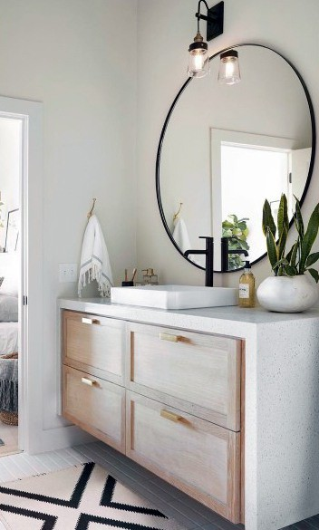 floating vanity bathroom cabinet ideas
