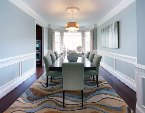 Designs For Chair Rail In Dining Room