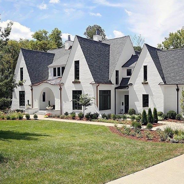 Top 70 Best Front Yard Landscaping Ideas - Outdoor Designs on Outdoor Front Yard Ideas id=30318