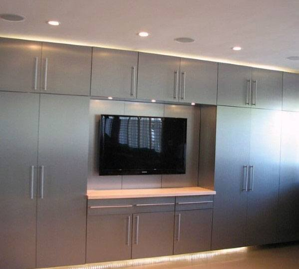 Designs For Garage Cabinet Grey
