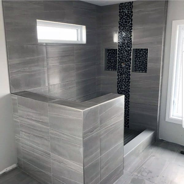 Designs For Grey Bathroom Tile