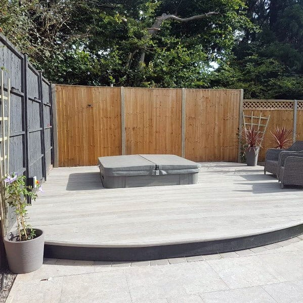 Designs For Hot Tub Deck