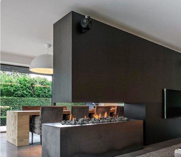 Designs For Linear Fireplace