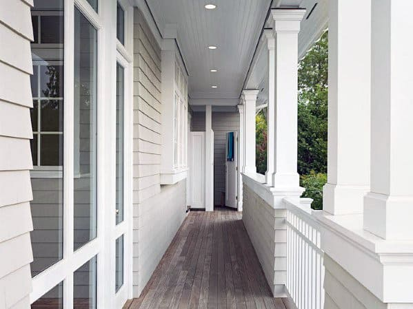 Designs For Porch Ceiling White
