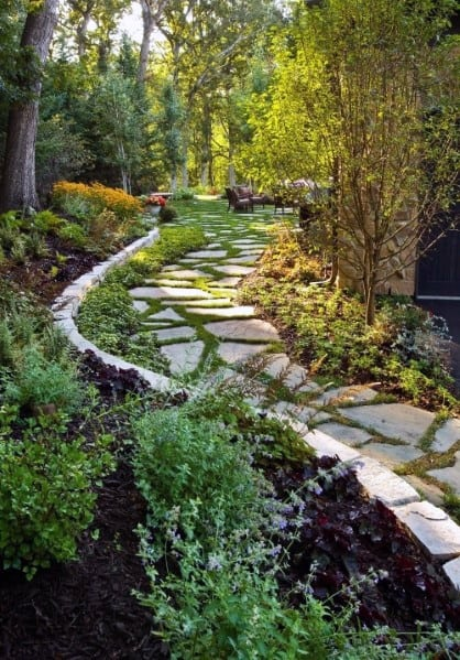 Designs For Stone Walkway
