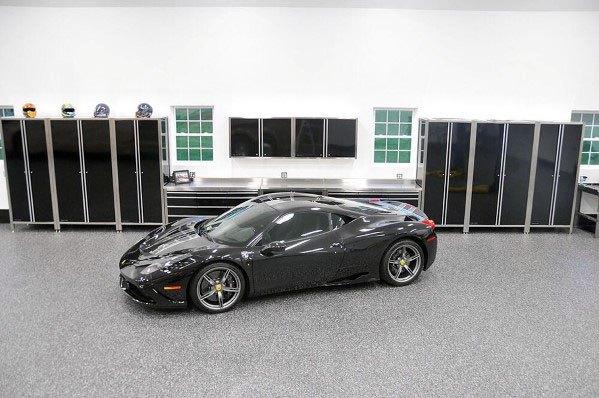 Designs Garage Cabinet Black