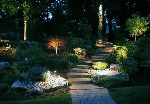 Designs Landscape Lighting Walkway Steps
