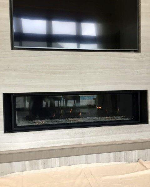 Designs Linear Fireplace