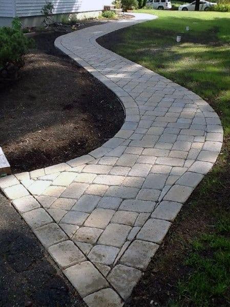 Designs Paver Walkway Path