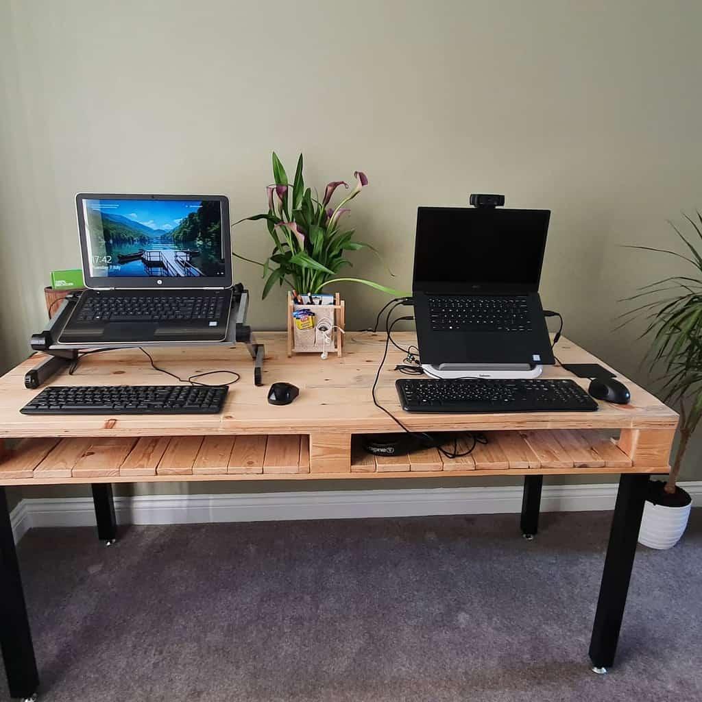desk pallet ideas north_va