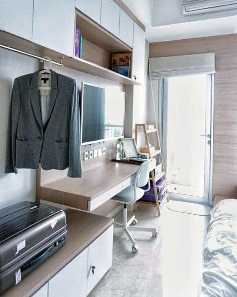 Desk Stuido Apartment Ideas