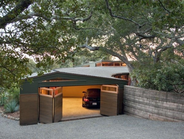 Detached Garage Ideas Curved