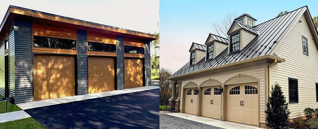Garage Design Ideas >> Top 60 Best Detached Garage Ideas Extra Storage Designs