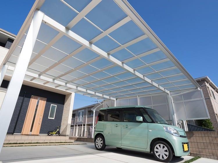 Detached House Double Carport Ideas