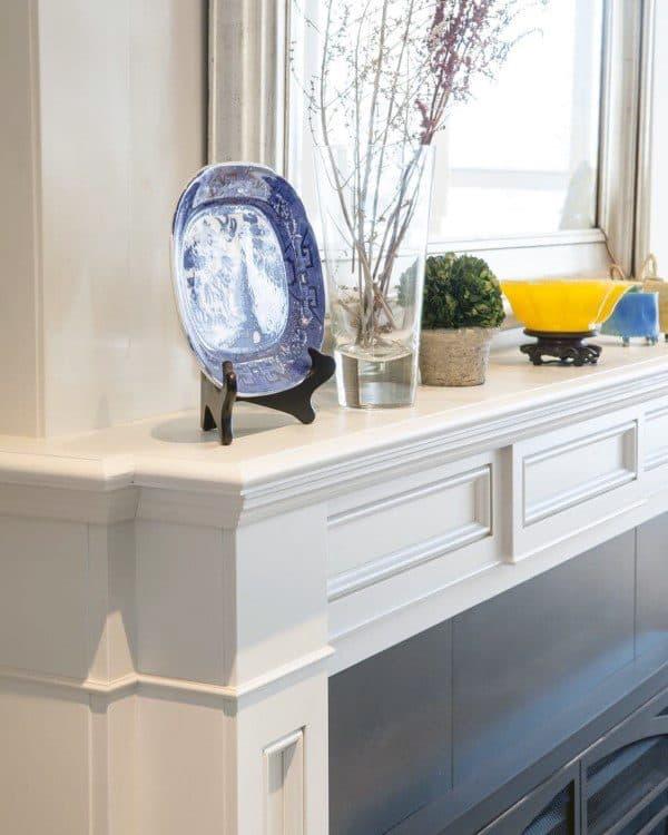 Detailed Fireplace Mantel Designs