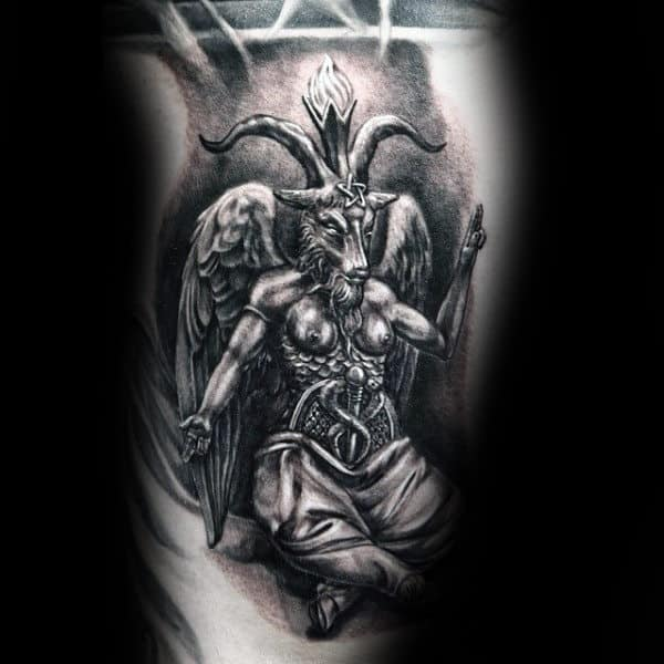 50 Baphomet Tattoo Designs For Men Dark Ink Ideas
