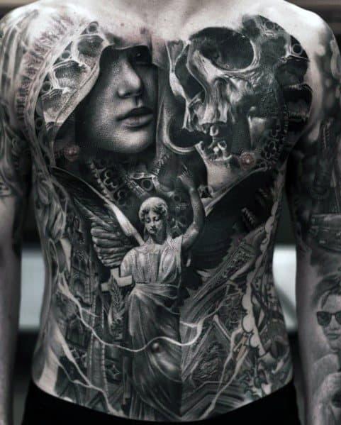 Detailed Mens Big Tattoo Design Ideas