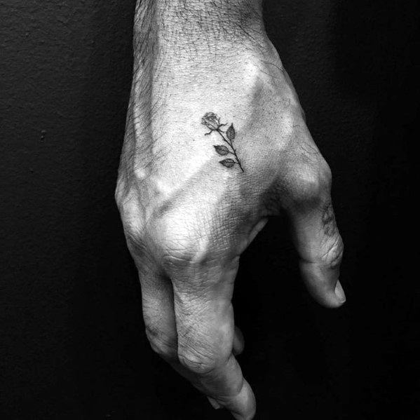 60 Small Hand Tattoos For Men