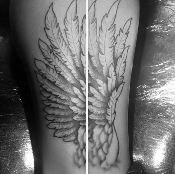 Detailed Wings Mens Hermes Tattoo Ideas