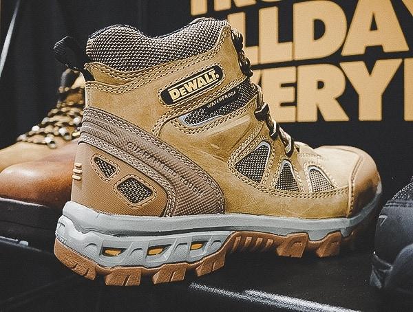 Dewalt Mens Leather Work Boots