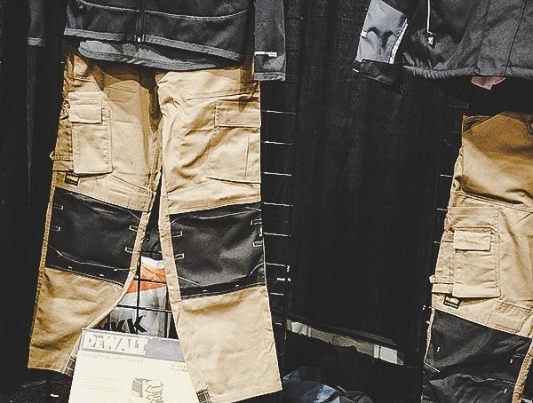 Dewalt Mens Rugged Work Pants