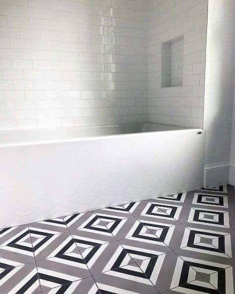 White Tiled Bathroom Ideas