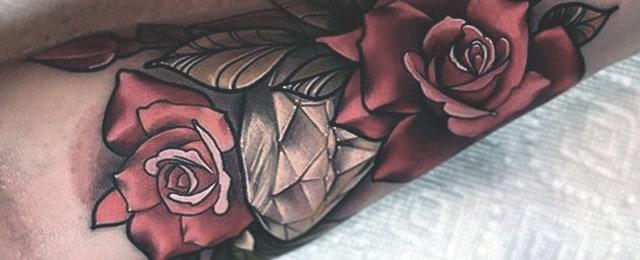 Diamond Tattoo Designs For Men