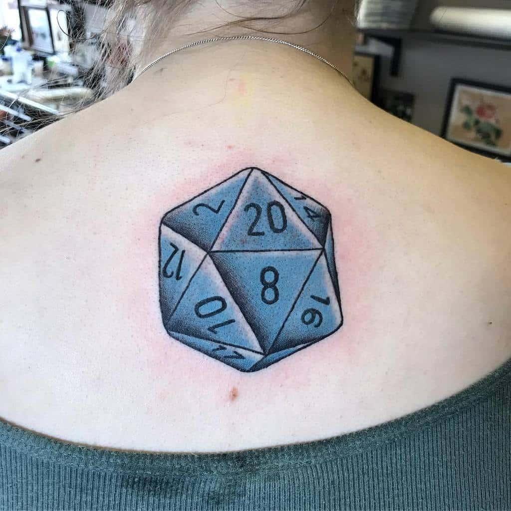 Dice Dungeons And Dragons Tattoos Jennifertroktattoos