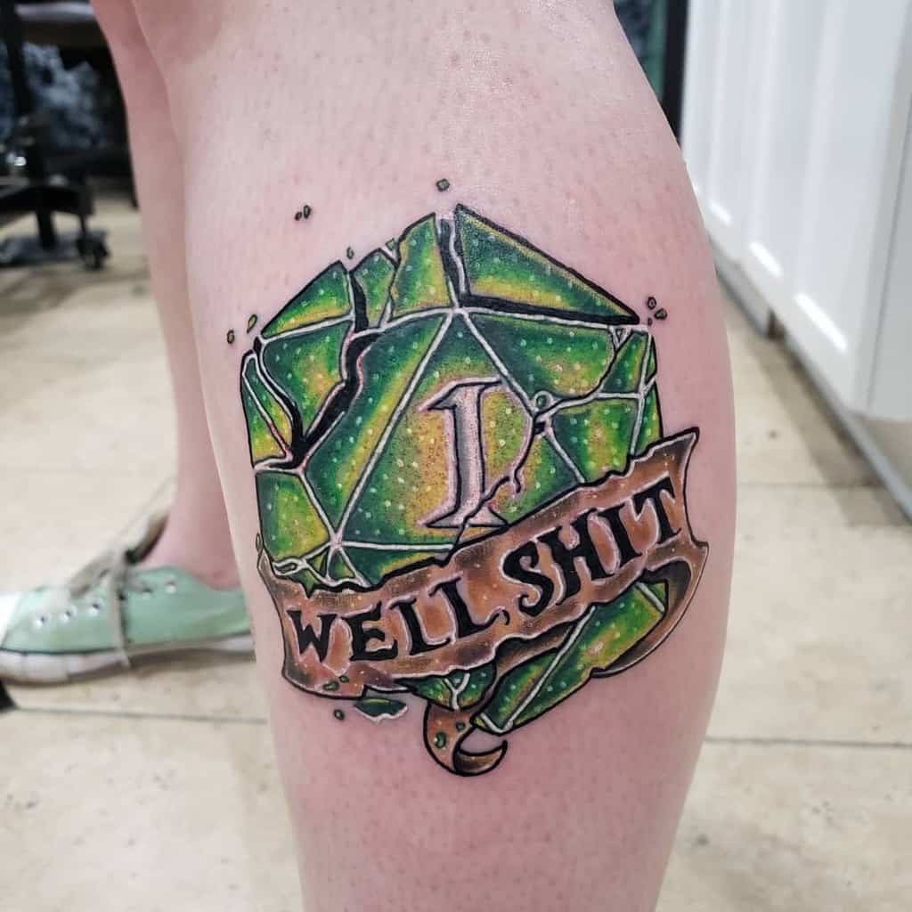 Dice Dungeons And Dragons Tattoos Turtle Christ