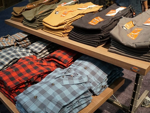 Dickies Mens Booth Outdoor Retailer Winter Market 2018