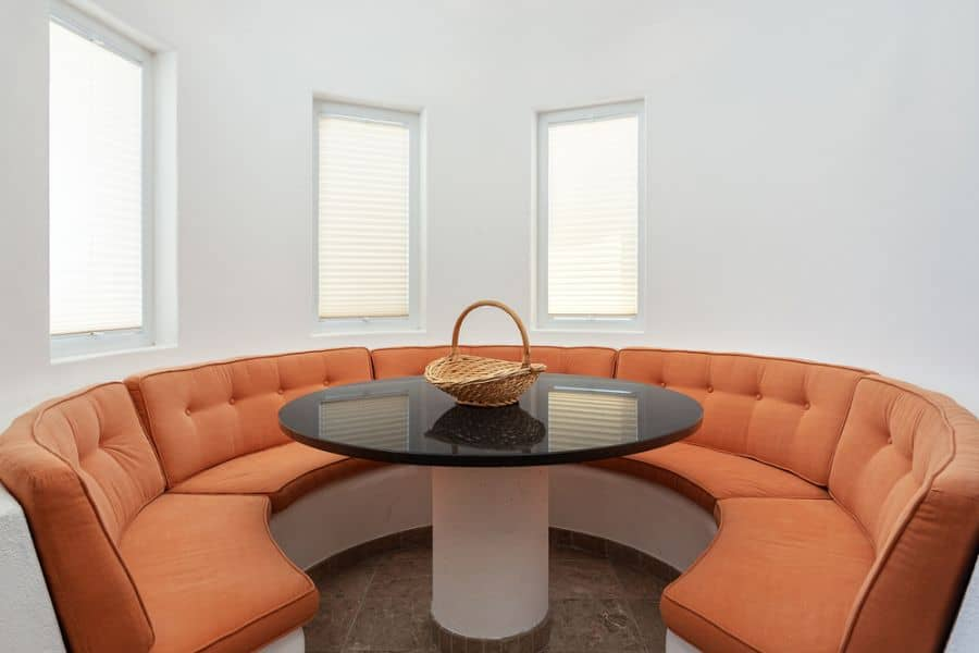 Dining Area Banquette Seating 1