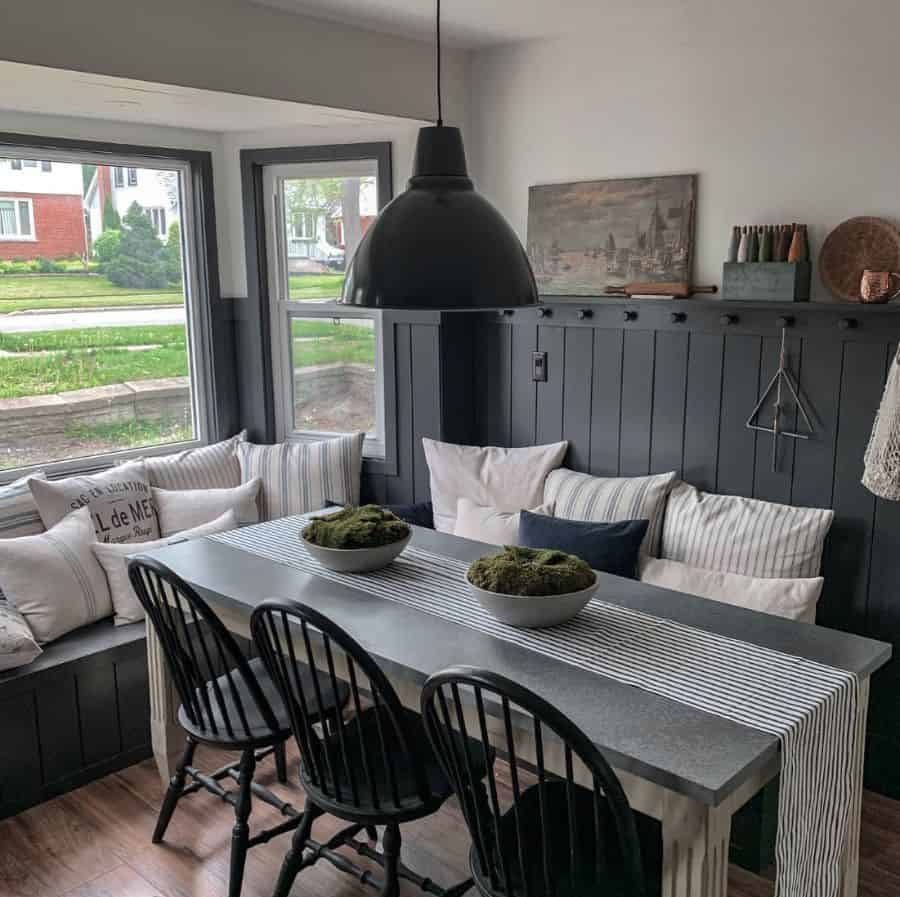 Dining Area Banquette Seating Railviewhome