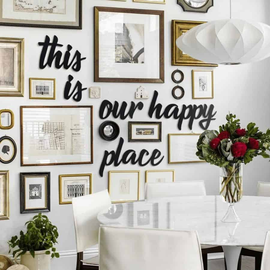 Dining Or Kitchen Picture Wall Ideas Decoranyofficial