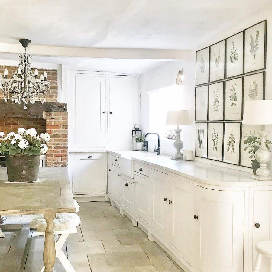 Dining Or Kitchen Picture Wall Ideas Frenchandcountryliving