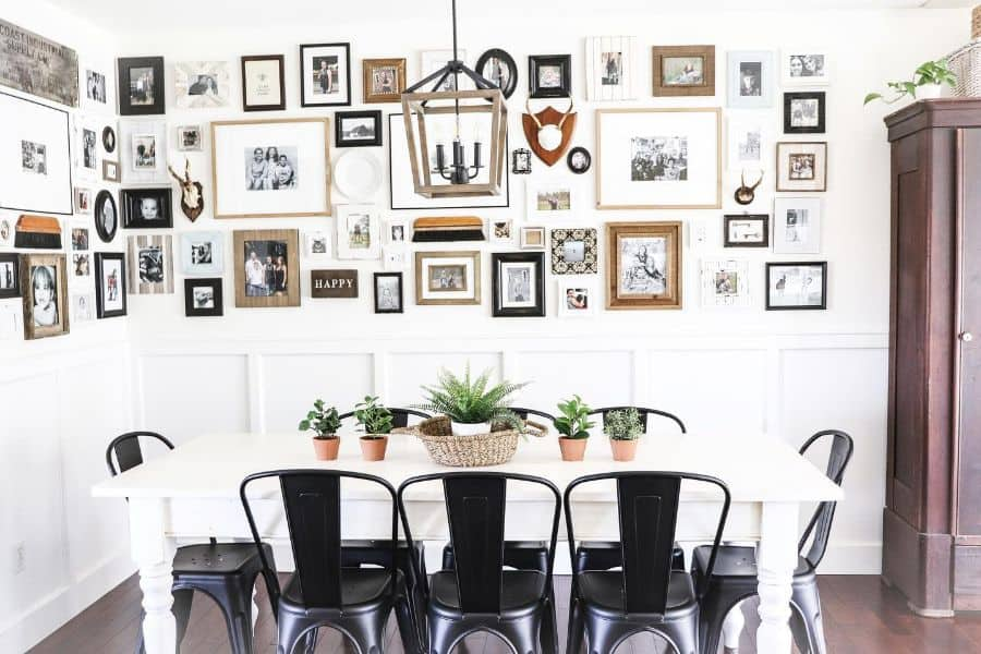 Dining Or Kitchen Picture Wall Ideas Freshfarmhousefeels