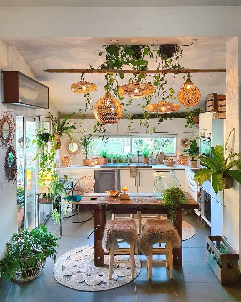 dining room and kitchen indoor garden ideas zebodeko