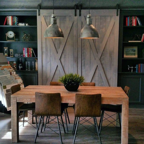 Dining Room Built In Bookcase Cool Interior Ideas