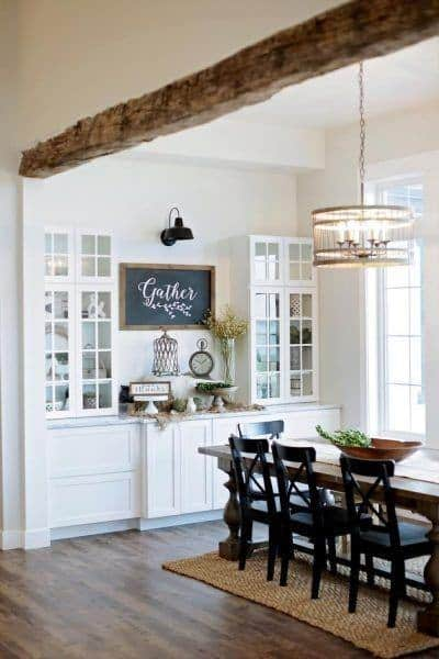 Dining Room Ideas With Rustic Decor