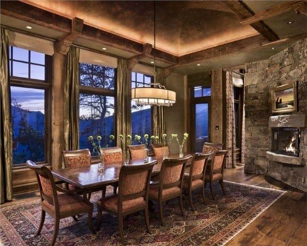Dining Room Interior Ideas Rustic Designs