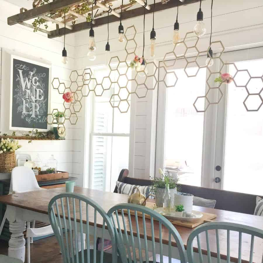 Dining Room Modern Farmhouse Decor Cassandradesign