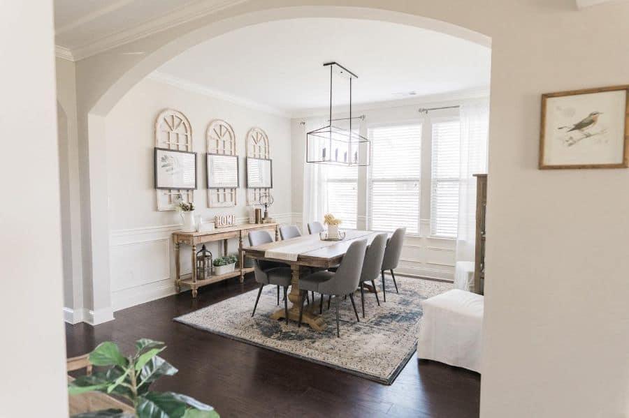 Dining Room Modern Farmhouse Decor Life.with.marion