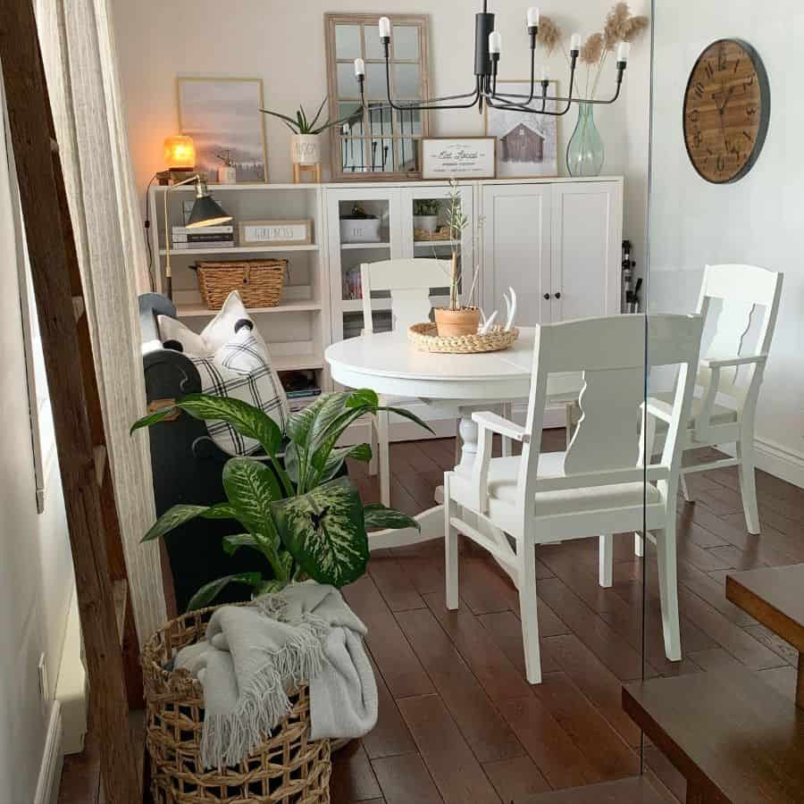 Dining Room Modern Farmhouse Decor Miss Izzabel