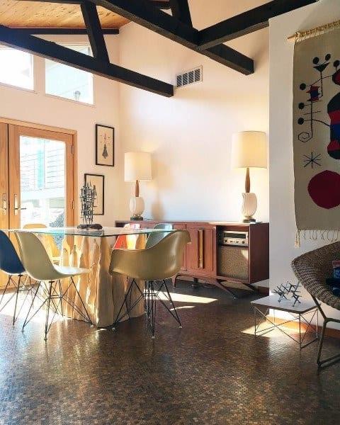 Dining Room Penny Floor