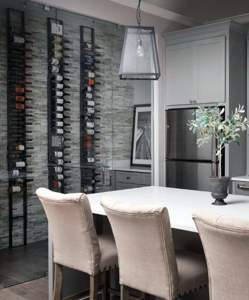 Dining Room Wine Cellar Ideas