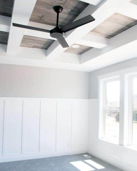 Dining Room Wood Coffered Ceiling Ideas Inspiration
