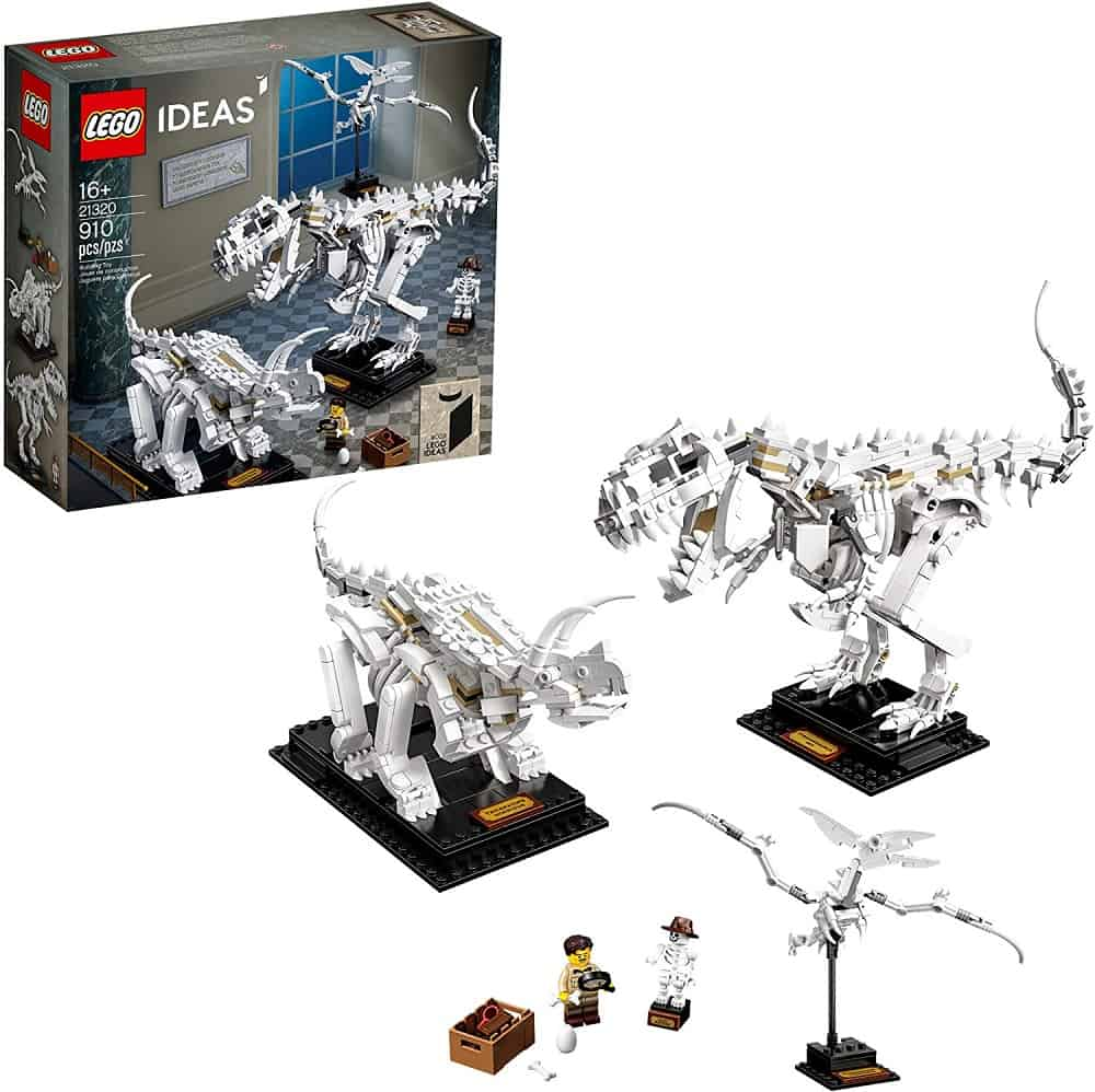 lego ideas dinosaur fossils building kit