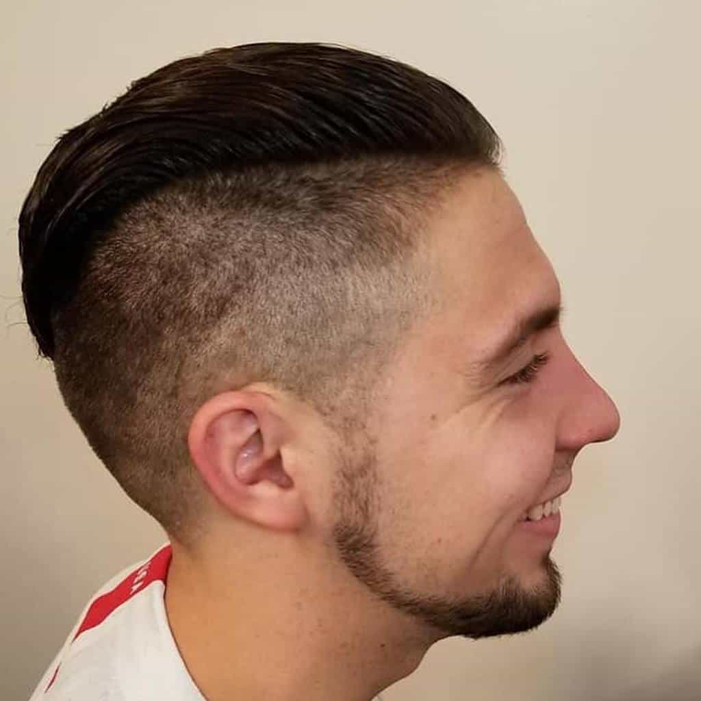 Disconnected Cut Hairstyle