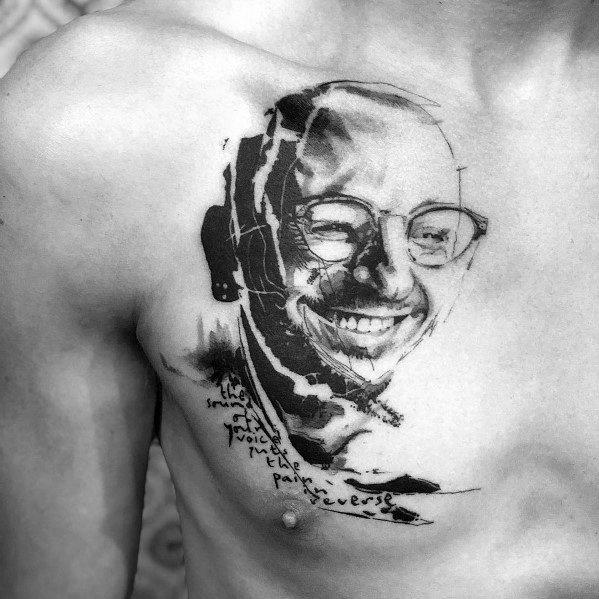 Distinctive Linkin Park Tattoos For Men