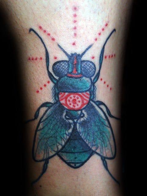 Distinctive Male Fly Tattoo Designs
